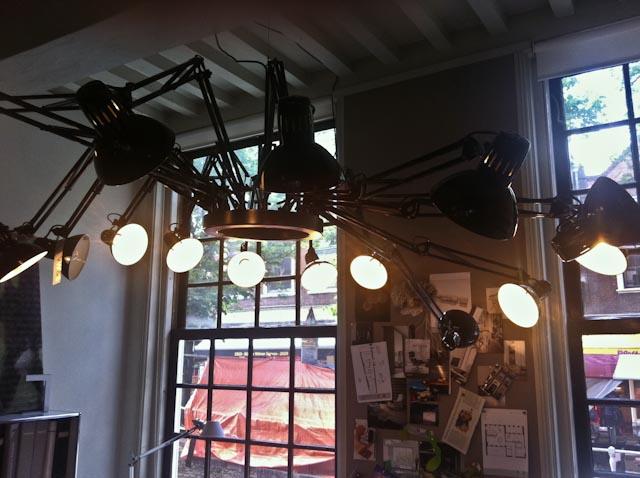Bureaulampen Spin