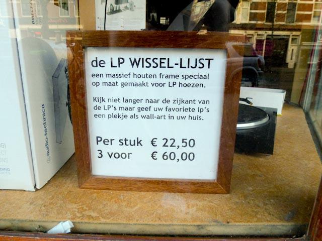 LP Wissellijst