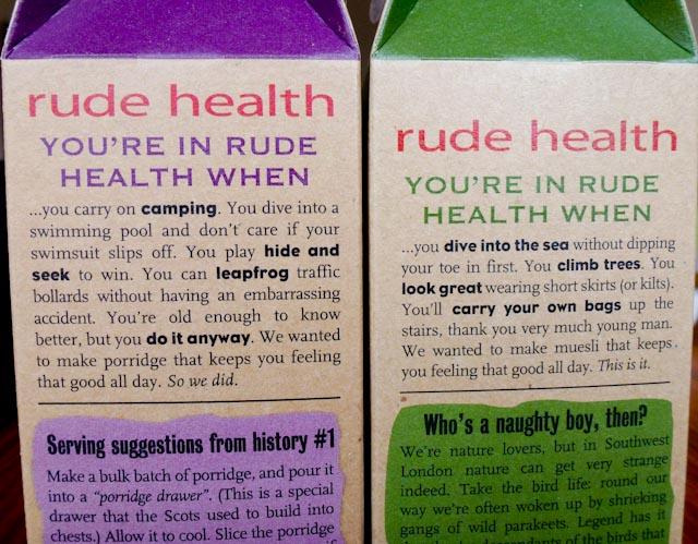 1700: Rude Health