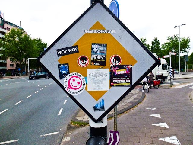 Occupy Verkeersbord