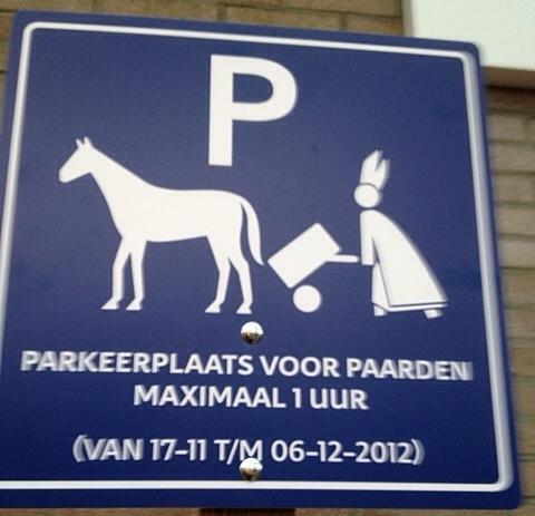 1953: Parkeerplaats Voor Paarden