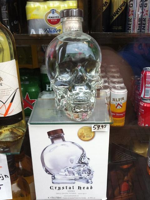 speciale wodka fles