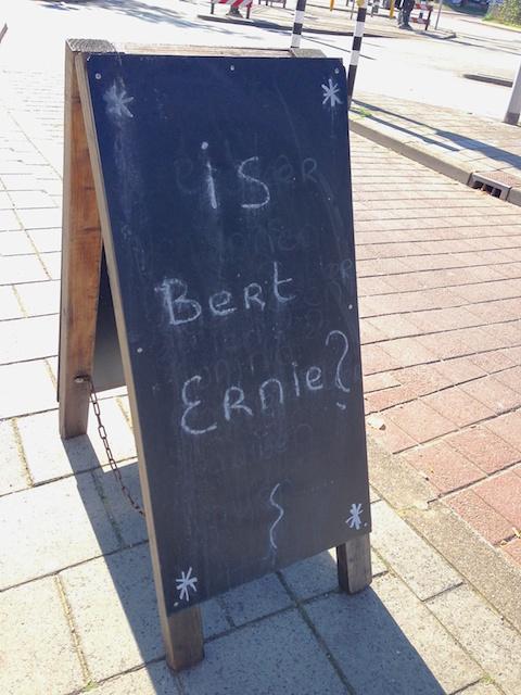 Is Bert Ernie?