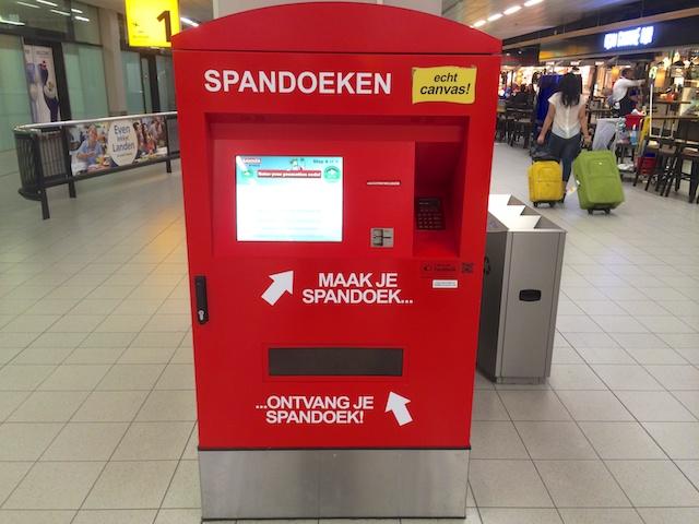 2467: Spandoeken-automaat
