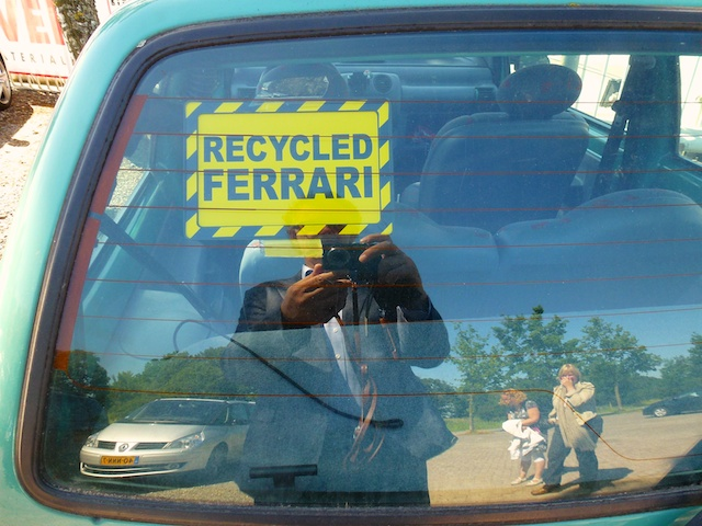 Recycled Ferrari