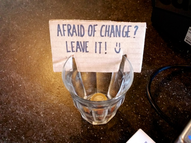 Afraid of Change