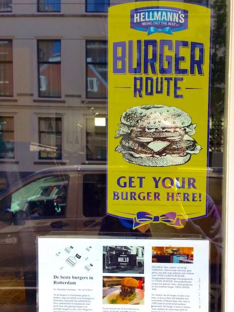 2868: Burger Route