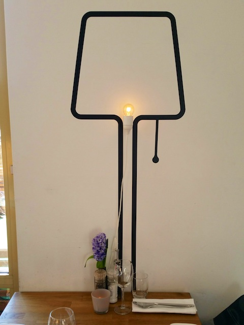 Suggestieve lamp