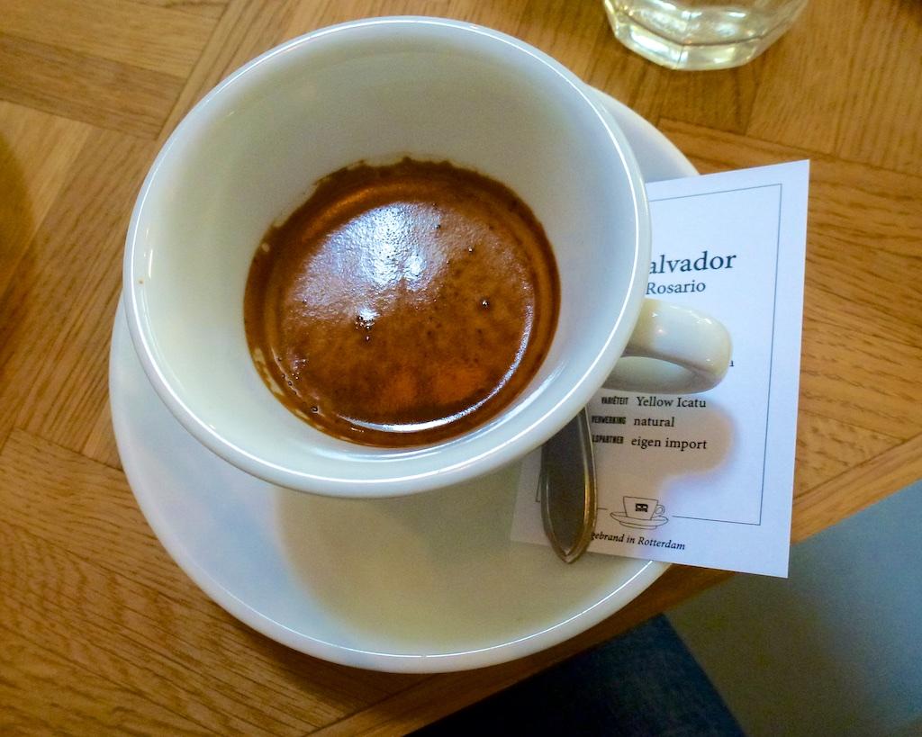 Koffie Met Kaartje