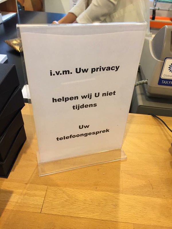 3073: Uw Privacy