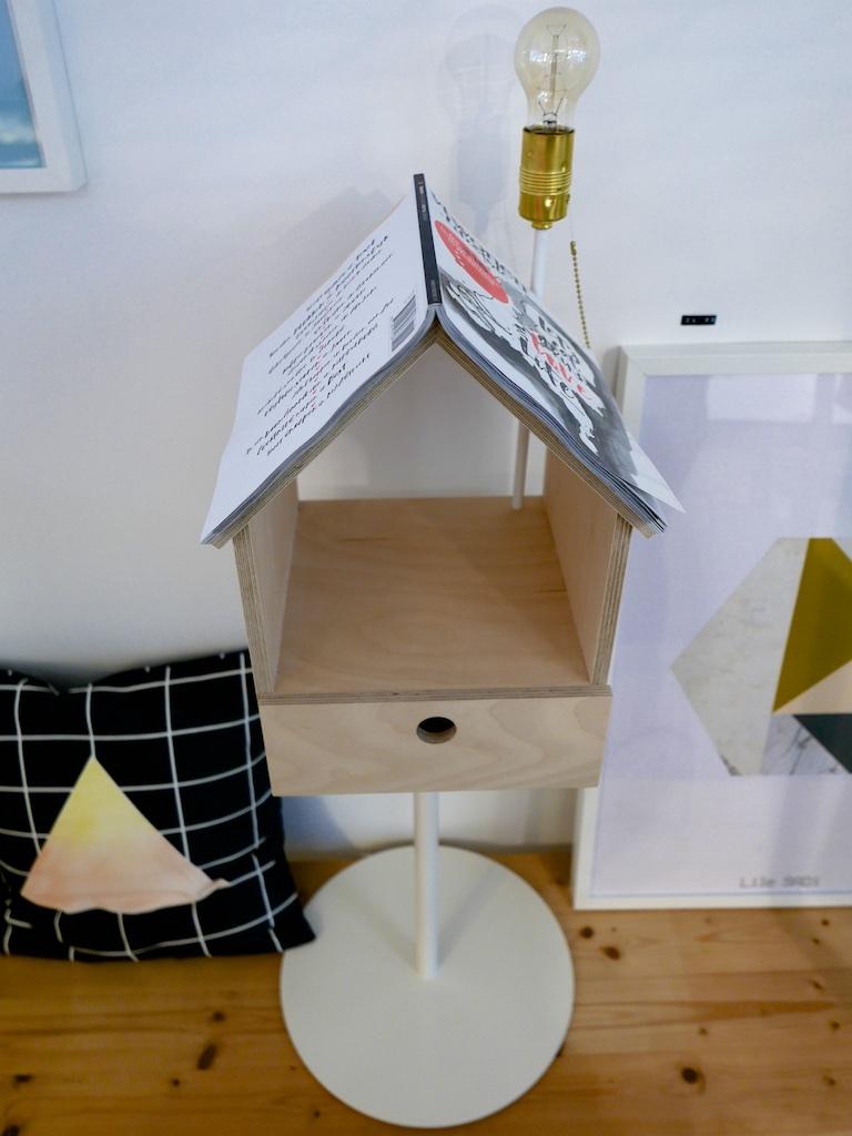 Vogelboeklamp