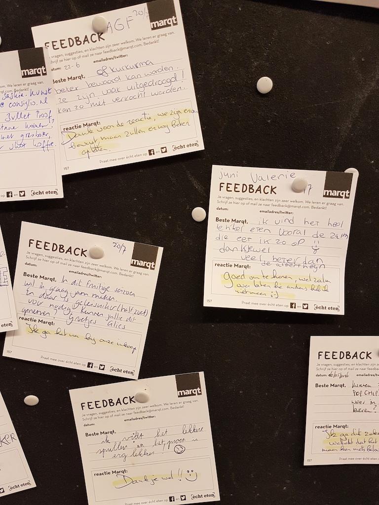 feedback-briefjes