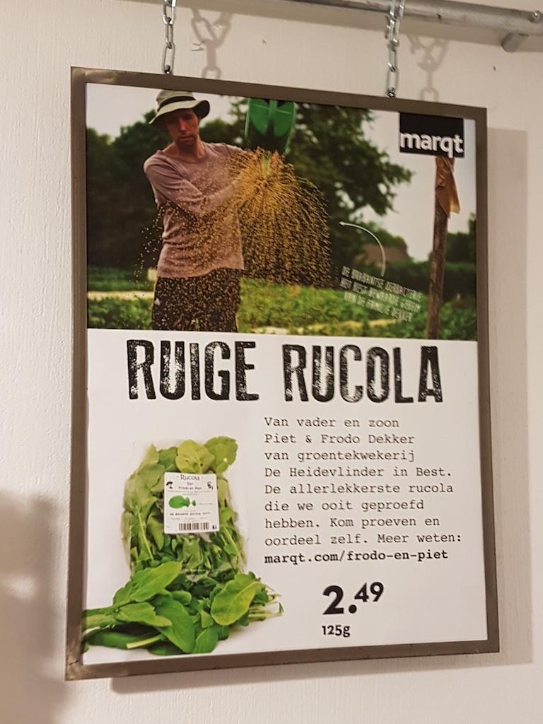 Ruige Rucola