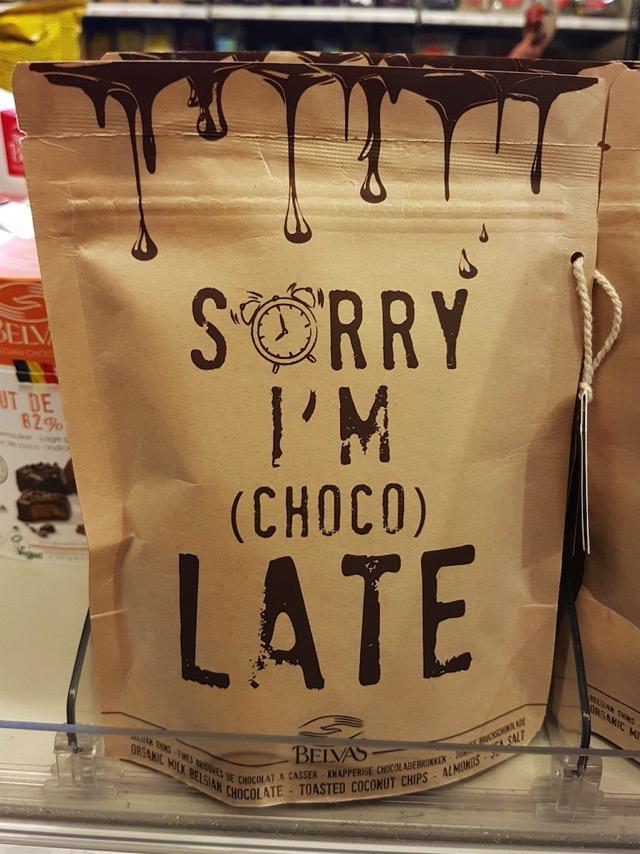 3498: (choco)Late
