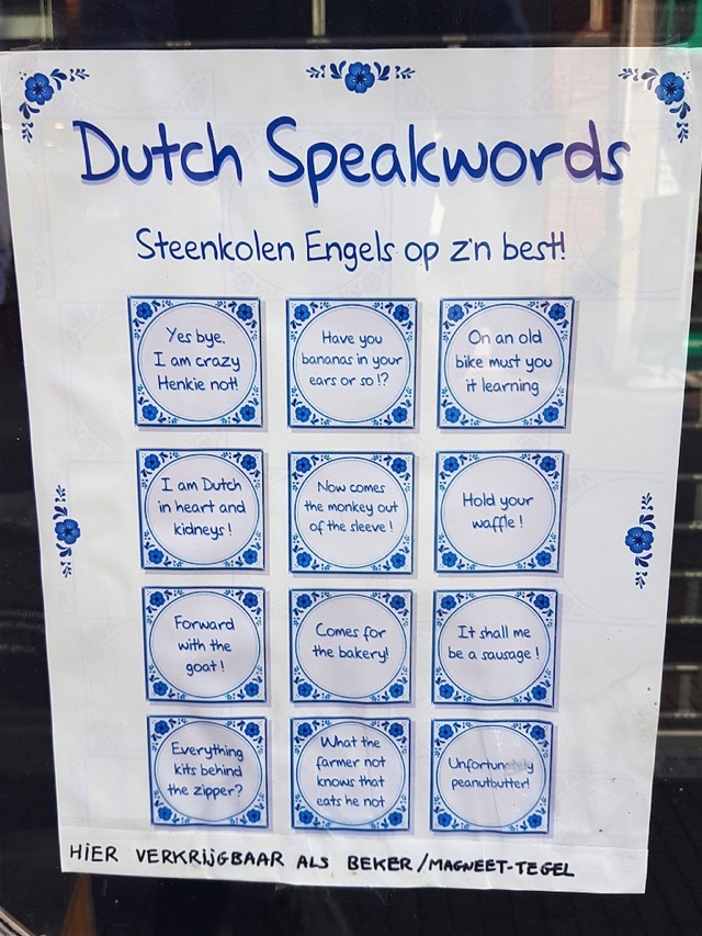 3634: DUTCH SPEAKWORDS