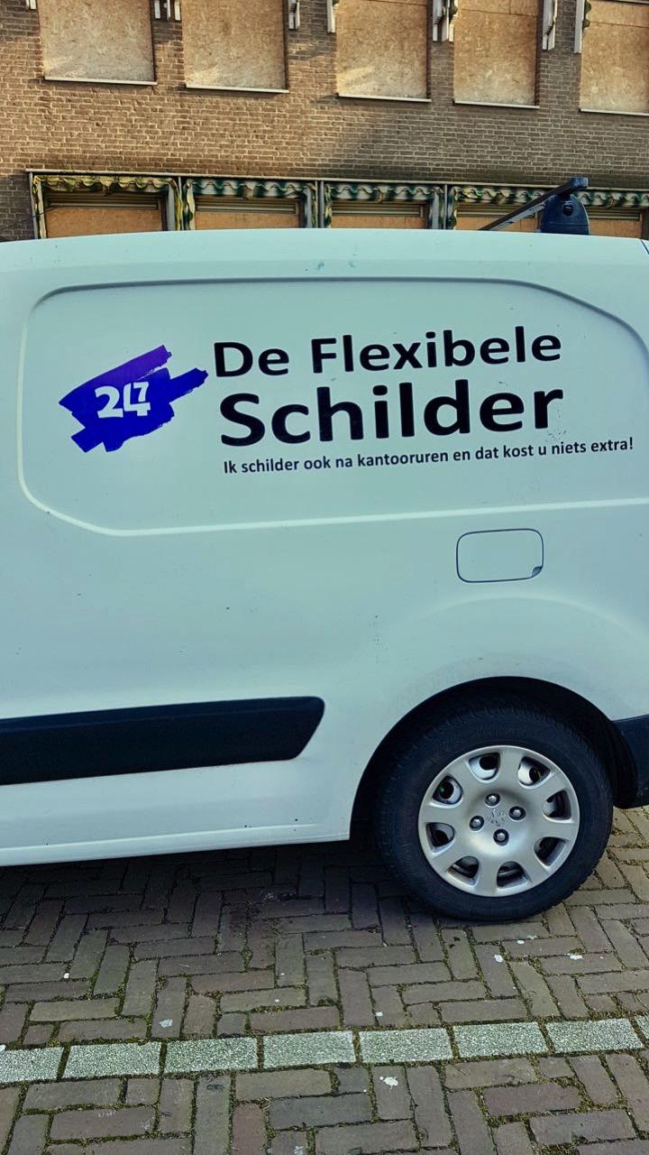 3861: FLEXIBELE SCHILDER