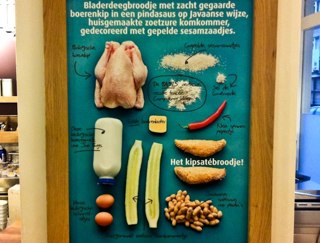 Ingredienten Broodje