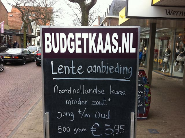 Budgetkaas