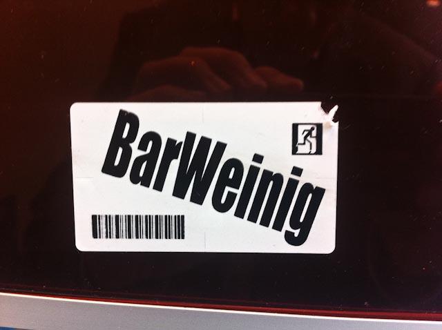 1453: Bar Weinig