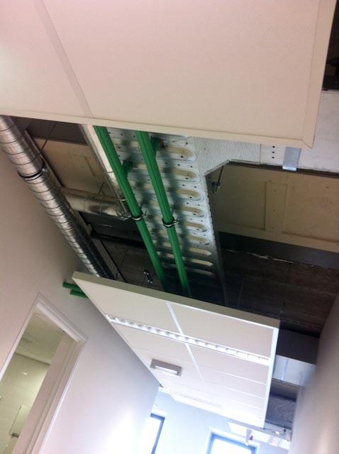 Halfopen Plafond
