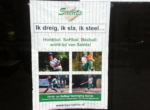 Honkbal dating analogie Headhunters matchmaking op de arbeidsmarkt