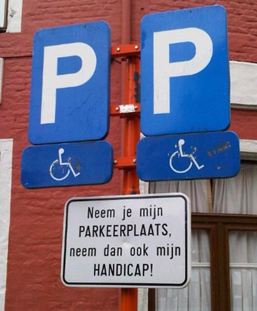 1856: Neem Dan Ook Mijn Handicap…