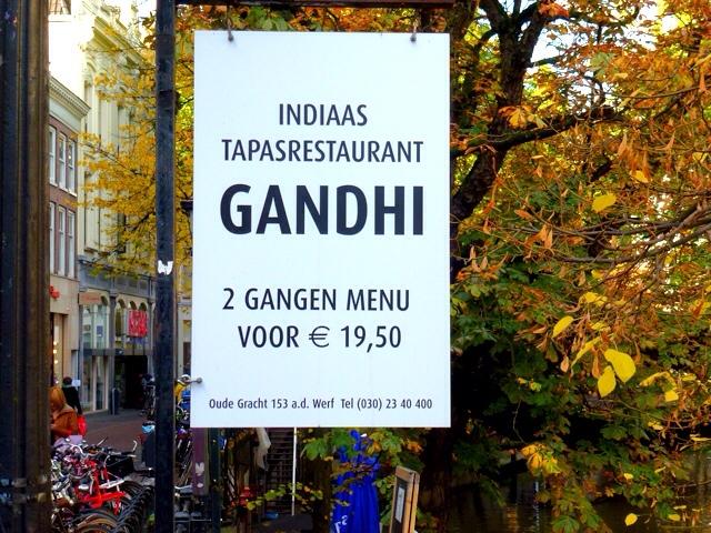 1917: Eten Bij Ghandi