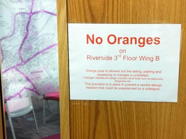 1943: No Oranges