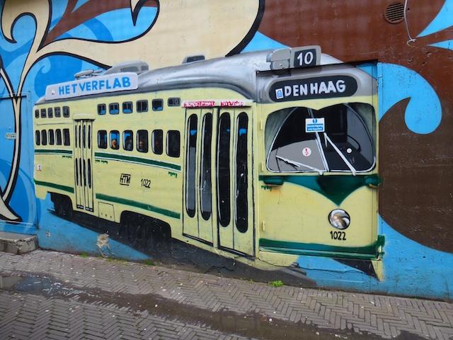 Voordeur tram