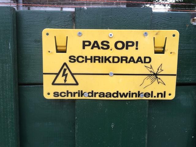 Schrikdraadwinkel