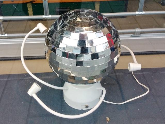 Zelfstandige Disco Bol