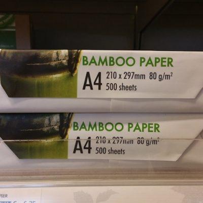 2777: Printen Op Bamboe