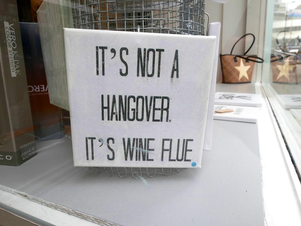 Wine Flue