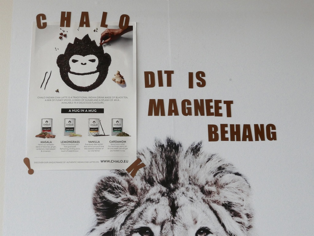 Magneet Behang
