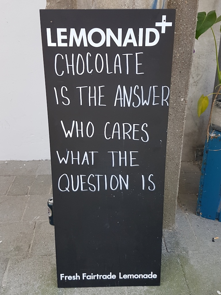 Chocolade Answer
