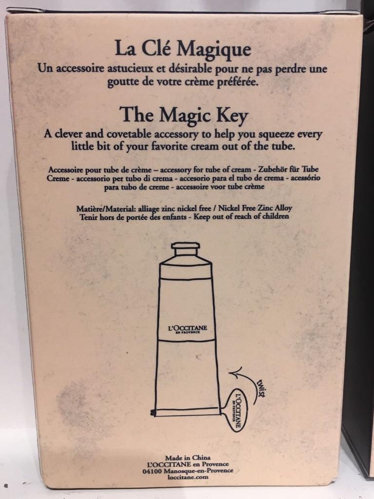 3436: LA CLE MAGIQUE